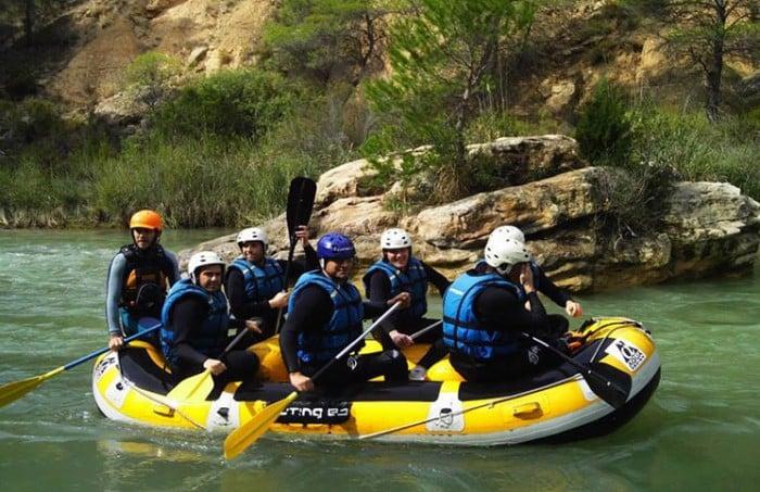 Rafting empresas
