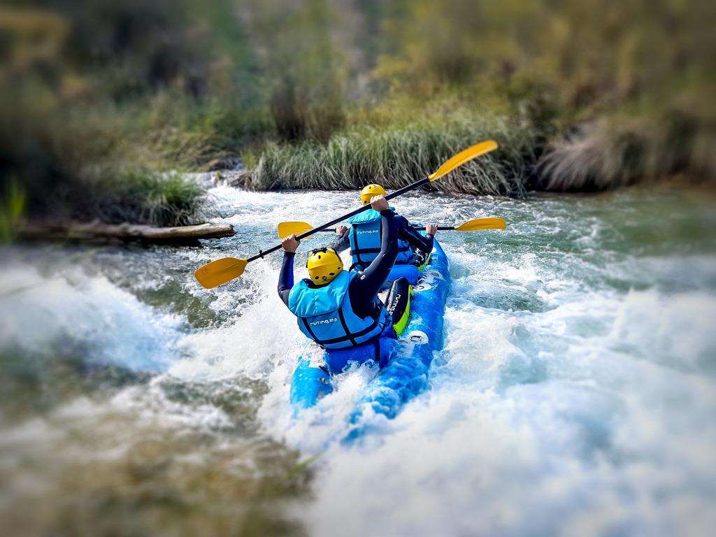Piragüismo y canoas