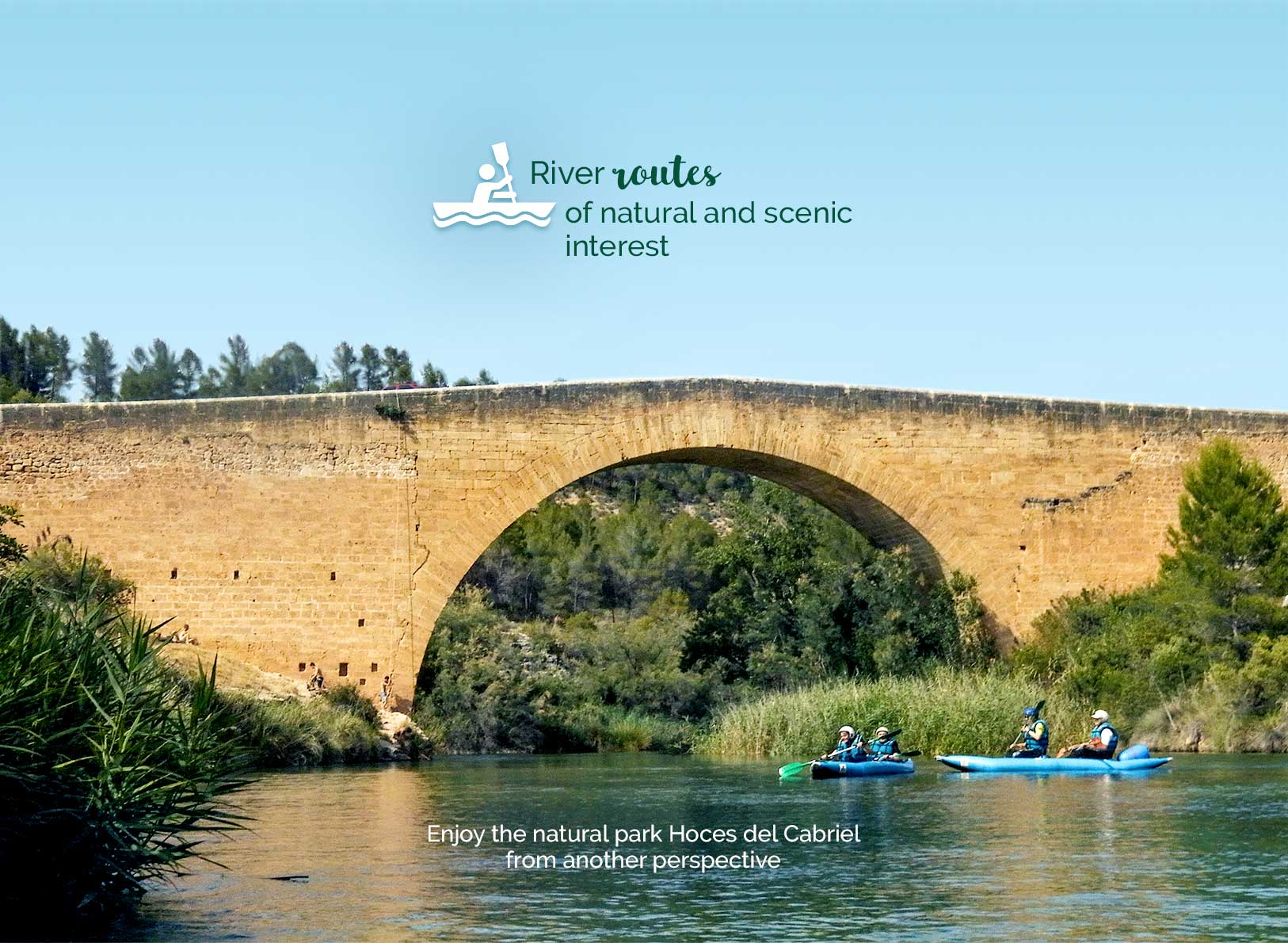 River routes of natural and scenic interest.